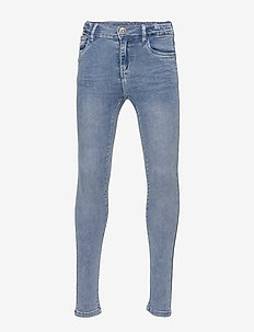 NKFPOLLY DNMTORA 2302 HW  PANT NOOS - jeans - medium blue denim