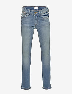 NKMTHEO DNMTISTIC 2304 PANT BET NOOS - jeans - medium blue denim