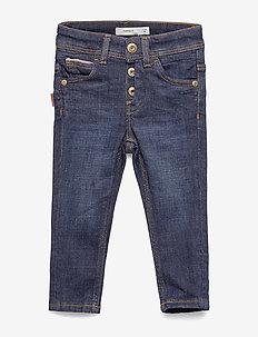 NMMSILAS DNMTEXAS 3304 PANT BET NOOS - jeans - dark blue denim