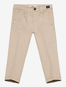 NMMBARRY TWIATICKA CHINO CD - WHITE PEPPER