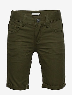 NKMSOFUS TWIISAK LONG SHORT CAMP - KOMBU GREEN