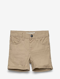 NMMSOFUS TWIISAK LONG SHORT CAMP - shorts - white pepper