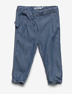 NBFRIE DNMBATYTTE 1350 PANT - housut - light blue denim