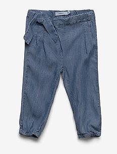 NBFRIE DNMBATYTTE 1350 PANT - pantalons - light blue denim