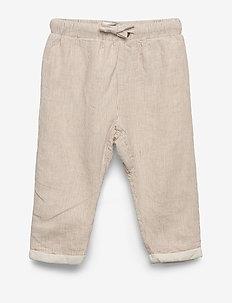 NBMFASAN PANT - trousers - bone brown