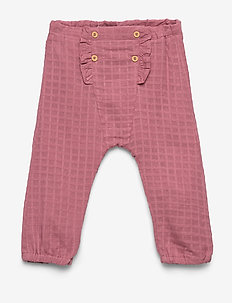 NBFDALINA PANT - trousers - heather rose