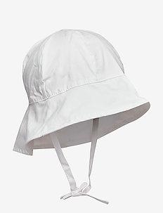 NMFZILLAI UV HAT - BRIGHT WHITE