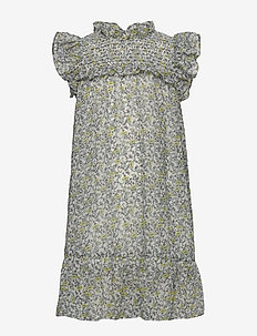 NKFFEODORA CAPSL DRESS - kjoler - bright white