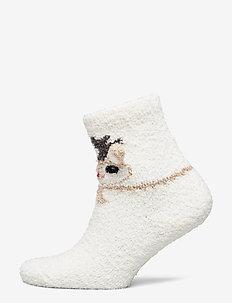 NMNRUFFLE TERRY SOCK - SNOW WHITE