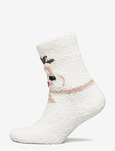 NKNRUFFLE TERRY SOCK - SNOW WHITE