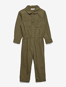 NMFDURA LS JUMPSUIT - jumpsuits - ivy green