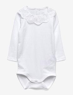 NBFFINE LS BODY - met lange mouwen - bright white