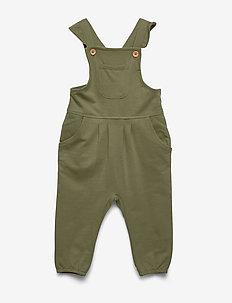 NMFFAGARDEN LIGHT SWEAT JUMPSUIT UNB - jumpsuits - loden green