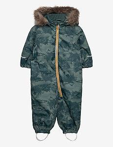 NMMSNOW08 SUIT MOUNTAIN FO - snowsuit - thyme