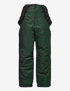 NKMSNOW10 PANT 2FO - winter trousers - darkest spruce