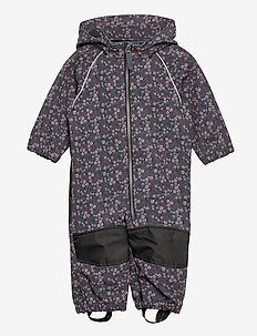 NMFALFA SUIT MINI FLOWER FO - softshells - ombre blue