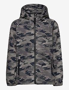 NKMALFA JACKET CAMO REFLEX FO - softshell jacket - dark sapphire