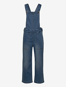 NKFRANDI DNMBATULLAS 2384 7/8 W OVERALL - buksedragter - medium blue denim