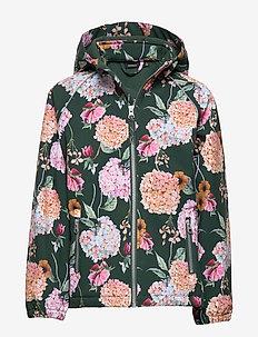 NKFALFA JACKET HORTENSIA FO - jackets - green gables
