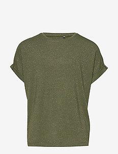NKFDYRRA SS TOP - short-sleeved - loden green