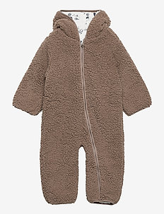 NBMMILLO TEDDY SUIT - long-sleeved - cinder