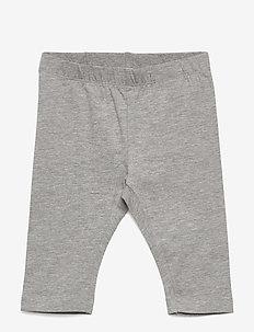 NMFVIVIAN SOLID CAPRI LEGGING J - leggings - grey melange