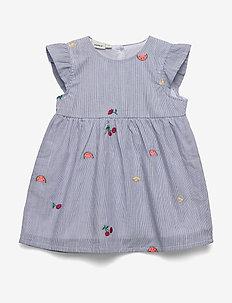 NBFDENISE SS DRESS - kjoler - dazzling blue