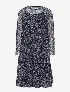 NKFKLARISA LS DRESS - dresses - darkest spruce