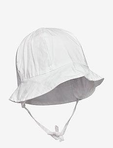 NBFZAFYPSI UV HAT W/EARFLAPS - BRIGHT WHITE