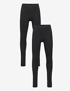 NKFVIVIAN 2P LEGGING NOOS - leggings - black