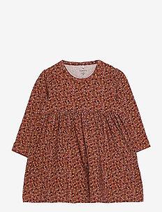 NBFOTILIA LS DRESS - jurken - burnt brick
