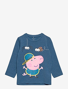 NMMPEPPAPIG MIMER LS TOP PEP - long-sleeved t-shirts - gibraltar sea