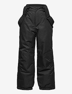 NKNSNOW10 PANT 2FO - winter trousers - black