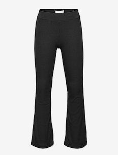 NKFFREJALO BOOTCUT PANT NOOS - trousers - black