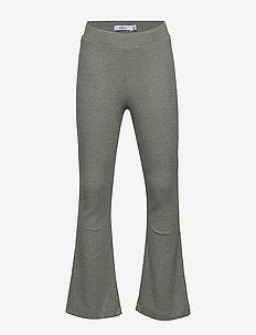 NKFBALINA BOOTCUT PANT - pantalons - shadow