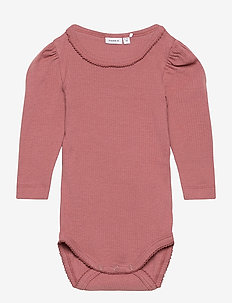 NBFKABEXI LS BODY - manches longues - withered rose