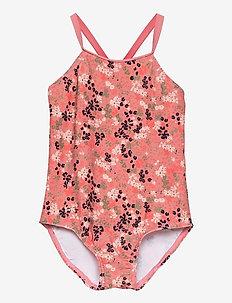 NMFZIFLOWER SWIMSUIT - swimsuits - dusty rose