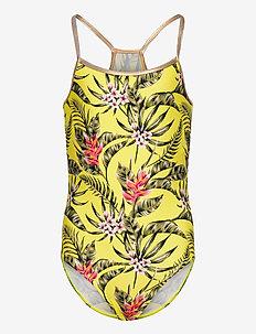 NKFZTINAYA SWIMSUIT - swimsuits - lemon tonic