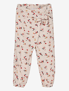 NMFDELFIN PANT - trousers - peyote melange