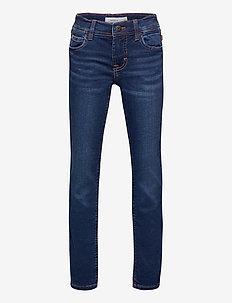 NKMTHEO DNMTIMES 3470 SWE PANT NOOS - jeans - dark blue denim