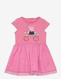 NMFPEPPAPIG MANDY SS DRESS PEP - kleider - morning glory