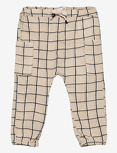 NBMHENRY PANT - trousers - oatmeal