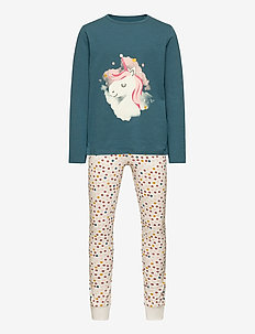 NKFNIGHTSET REAL TEAL UNICORN NOOS - sets - real teal