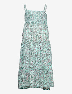 NKFVINAYA STRAP MAXI DRESS HHH - kleider - pastel turquoise