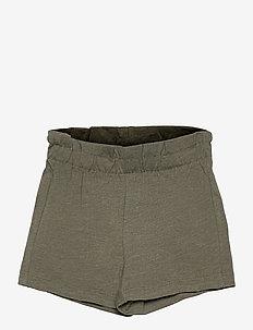 NMFVALBONA PAPERBAG SHORTS H - shorts - deep lichen green