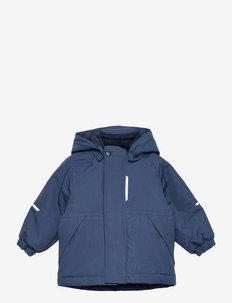 NMMSNOW03 JACKET 3FO - softshell jacket - dark denim