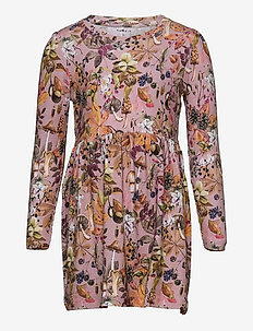 NMFLINDA LS DRESS - kleider - pale mauve