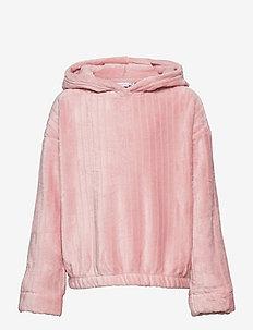 NKFKEISIL LS SWE UNB - hoodies - pale mauve