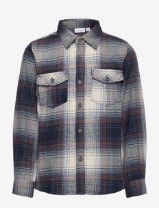NKMOMOK LS SHIRT - shirts - bering sea
