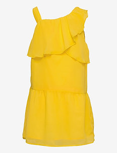 NKFBEMERLE SL DRESS - kleider - primrose yellow